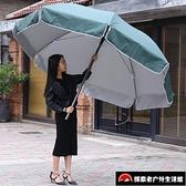 戶外大號雨傘擺攤傘圓防雨防曬折疊遮陽傘【探索者】