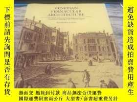 二手書博民逛書店Venetian罕見vernacular architectur