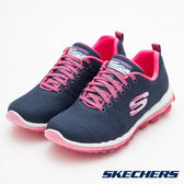 SKECHERS SKECH AIR 2.0 運動系列 藍X粉 12219NVHP 女鞋