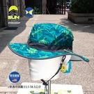 [美國 Sunday Afternoons ] 兒童 抗UV 雙面 圓盤帽 L號 迷彩綠 SAS2D11395B