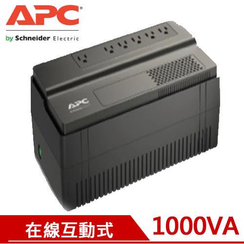 APC艾比希 1000VA 在線互動式不斷電系統 BV1000-TW【原價2199元↘現省300元】