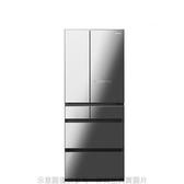 【南紡購物中心】Panasonic國際牌【NR-F656WX-X1】650公升六門變頻冰箱鑽石黑