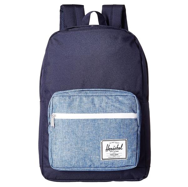 Hsin 8折 現貨 Herschel Pop Quiz 深藍 深水藍 機能型 筆電 多夾層 實用 大容量 防潑水 書包 後背包