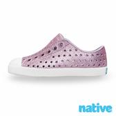 native 小童鞋 JEFFERSON 小奶油頭鞋-星鑽紫x貝殼白