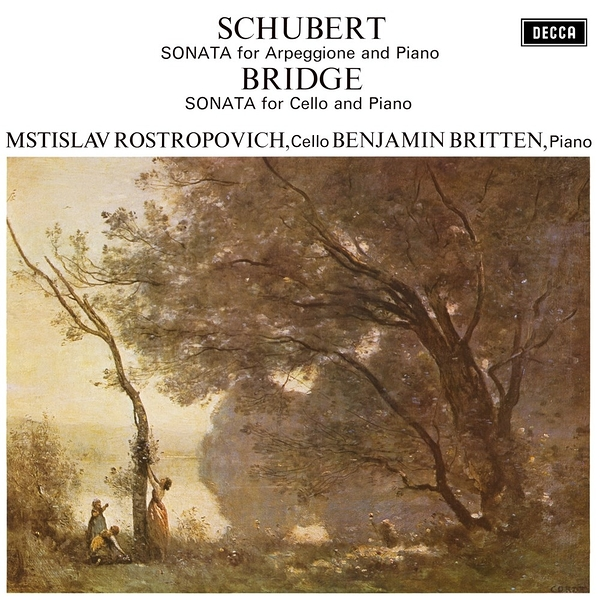 【停看聽音響唱片】【黑膠LP】舒伯特:阿貝鳩奈奏鳴曲、布瑞基:大提琴奏鳴曲(180g LP)