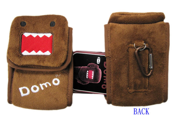 【卡漫城】多摩君 絨毛 相機包 ㊣版 DOMO KUN 手機包 收納包 相機袋 保護套 扣環 多功能包 萬用包