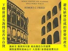 二手書博民逛書店Planning罕見the Eternal City : Rom