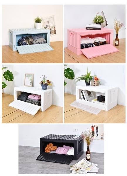 樹德 收納 摺疊收納 貨櫃椅【FB-6432S】 livinbox直接拿貨櫃箱(側開版)