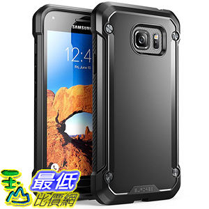 [美國直購] Supcase Samsung Galaxy S7 Active Case 黑色/透明 [Unicorn Beetle Series] 手機殼 保護殼