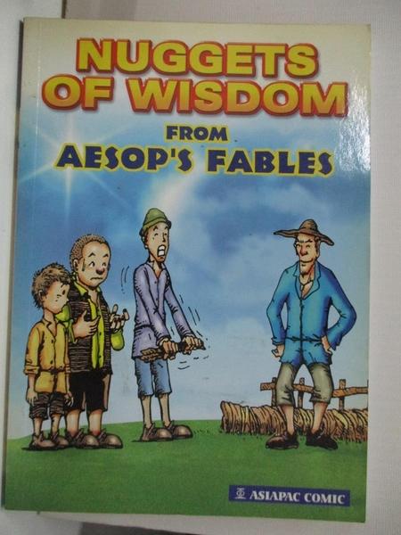 【書寶二手書T2/原文書_B55】Nuggets of Wisdom from Aesop s Fables