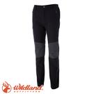 【Wildland 荒野 特 男款 RE粗曠拼接保暖長褲《松葉灰》】0A52362/四向彈性/耐磨/粗曠硬挺