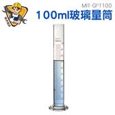 《精準儀錶旗艦店》25 50 100 250ml 玻璃刻度量筒A 級量筒化學實驗醫用食品檢測量筒量杯MIT GPT100