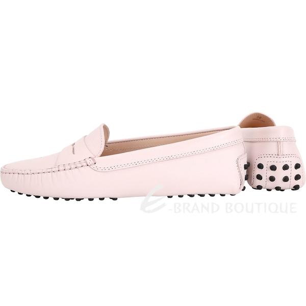 TOD'S Gommino 防刮牛皮豆豆休閒鞋(女鞋/柔粉色) 1840020-05