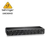 BEHRINGER UMC404HD 錄音介面 (帶Midas麥克風前置放大器 4x4、24位/ 192 kHz USB音頻接口)