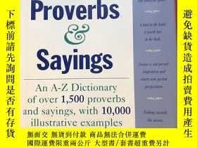 二手書博民逛書店Popular罕見proverbs & sayingsY445475 Gregory Y. Titelman