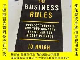二手書博民逛書店英文原版:The罕見Business Rules: Protec