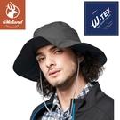 【Wildland 荒野 中性 抗UV防水功能寬帽《鐵灰》】W2008/防曬帽/休閒帽/圓盤帽/登山