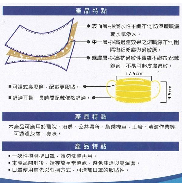 【滿額贈防疫面罩】台灣製 淨新兒童醫療口罩 極簡黑 50入 雙鋼印 平面口罩 醫用口罩 #捕夢網