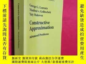 二手書博民逛書店Constructive罕見Approximation: Adv
