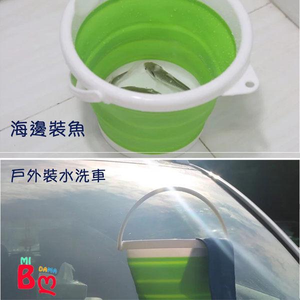矽膠折疊大水桶(10L)戶外旅行