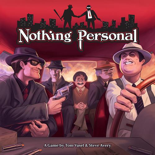 【限量專區】Nothing Personal 非關個人 桌上遊戲