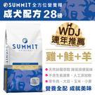 【毛麻吉寵物舖】Summit全方位營養糧成犬配方28B 狗飼料/WDJ推薦/狗糧/大包裝