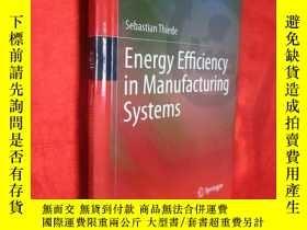 二手書博民逛書店Energy罕見Efficiency in Manufactur