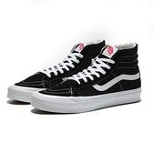 VANS 休閒鞋 OG SK8-HI LX 復古 黑白 高筒 滑板鞋 男女(布魯克林) VN0A4BVBOIU