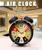 鬧鐘邁爾鬧鐘床頭學生靜音創意夜光簡約臥室時尚兒童電子多功能小鬧鐘3c公社