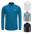 高爾夫 新款高爾夫男裝長袖 高爾夫服裝男透氣修身t恤golf衣服