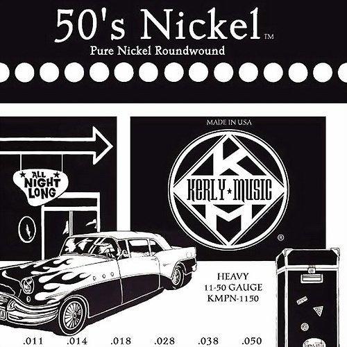 ☆ 唐尼樂器︵☆ Kerly 50's Nickel 系列冰火弦 KMPN-1150 (11-50) 美製純鎳電吉他弦