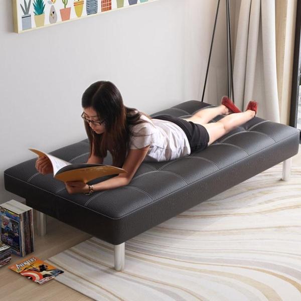 擇木宜居 可折疊沙發床客廳小戶型臥室懶人雙人小沙發兩用多功能【全館免運】