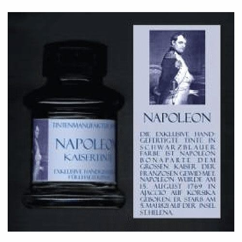 JANSEN文學家系列手工墨水(藍黑色)拿破崙_須預定*1154