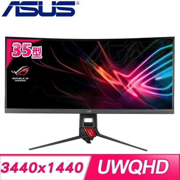【南紡購物中心】ASUS 華碩 XG35VQ 35型 電競曲面液晶螢幕