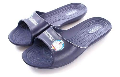 (e鞋院)哆啦A夢乾溼二用環保室內拖鞋-親子款