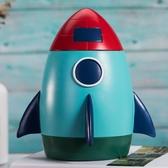 新品乳牙紀念盒男孩創意火箭擺件寶寶牙齒收藏盒子換掉牙齒保存盒 童趣屋