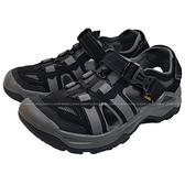 (C3)TEVA 男 OMNIUM 2 護趾水陸機能涼鞋 雨鞋 溯溪鞋 TV1019180BLK 黑 [陽光樂活]