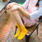 堆堆襪女百搭潮學院風韓版春夏季中筒長襪子