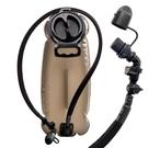 戶外運動飲水袋 加厚TPU 登山野營跑步 大容量折疊水袋 騎行水囊3L