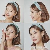 發箍韓國發卡寬邊簡約甜美成人可愛女頭飾布藝百搭超萌淑女韓式壓