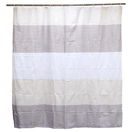 浴簾 H107 BORDER 180×180cm NITORI宜得利家居