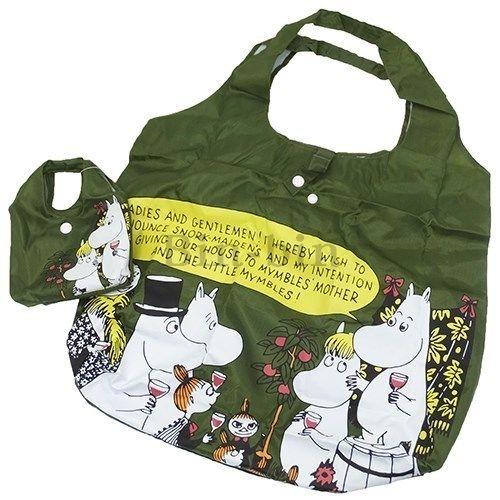 嚕嚕米 環保購物袋卡其色/134-950