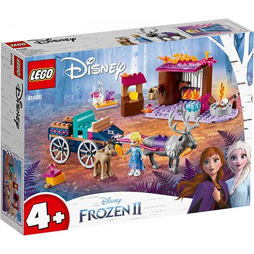 樂高積木 LEGO《 LT41166 》迪士尼公主系列 - Elsa's Wagon Adventure╭★ JOYBUS玩具百貨