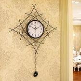 一紅時尚個性簡約藝術大掛表創意時鐘現代鐘表掛鐘 GB5086『樂愛居家館』TW