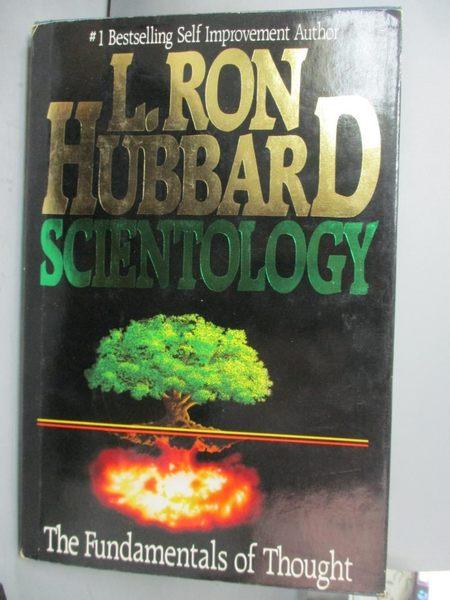 【書寶二手書T4/宗教_PMH】Scientology: The Fundamentals of Thought_Hub
