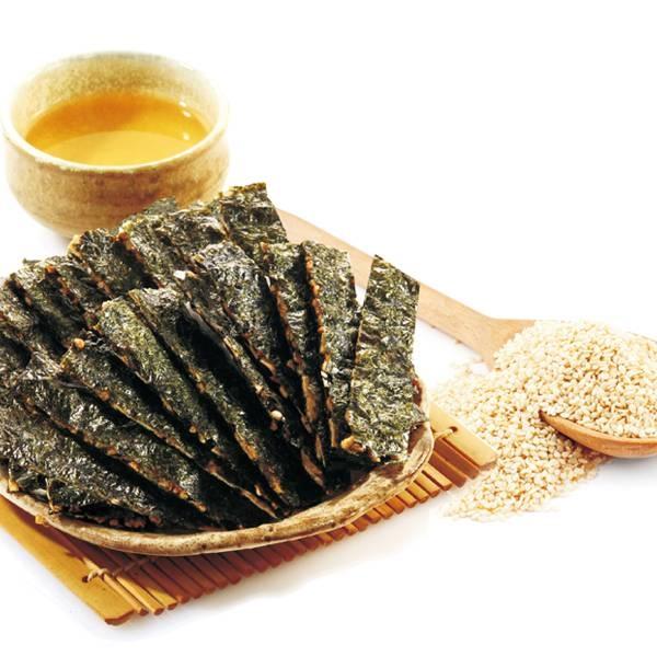 【美佐子MISAKO】中式食材系列-玉民 黃金蕎麥海苔薄燒(蕎麥芝麻) 40g