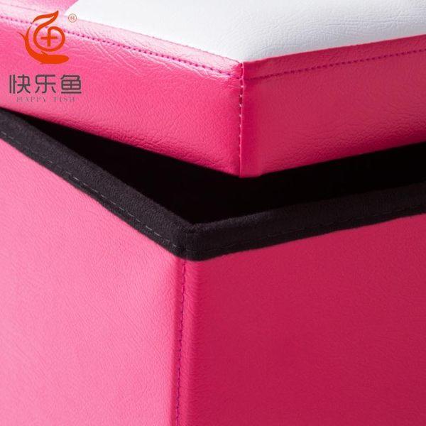 沙發凳子長方形收納箱可坐儲物箱多功能折疊收納凳成人皮革換鞋凳 滿598元立享89折