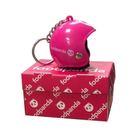 安全帽造型鑰匙圈-Foodpanda (粉色)+盒子