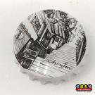 【收藏天地】台灣紀念品*開瓶器冰箱貼-印象九份 /小物 送禮 文創 風景 觀光  禮品
