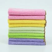 超細纖維神奇抹布加厚吸水去油不掉毛不沾油毛巾洗碗布廚房清潔巾 東京衣櫃